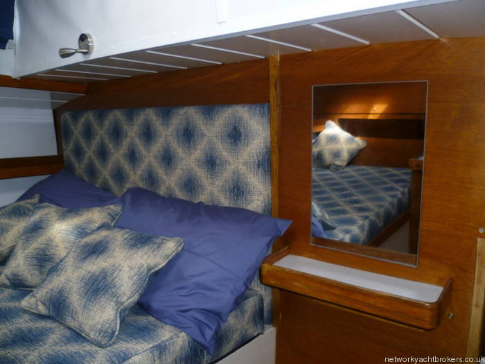 Moody 333 Aft Cabin