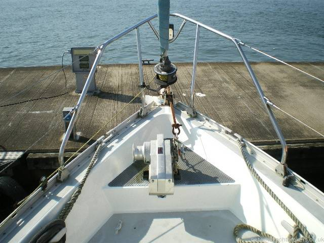 Moody 333 Foredeck