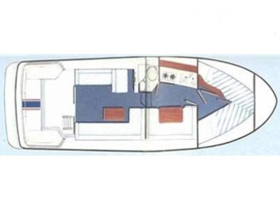 Fairline Corniche Layout