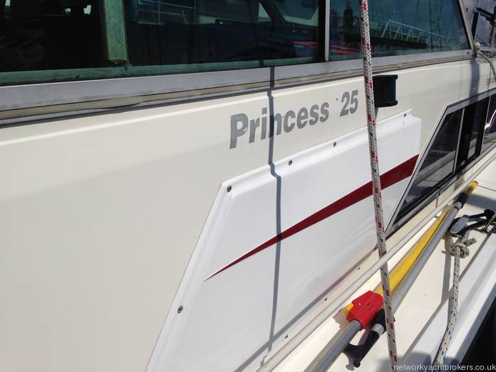 Princess 25 Livery