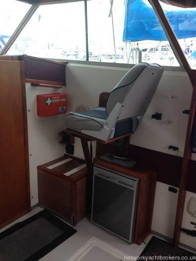 Princess 25 Navigators Seat