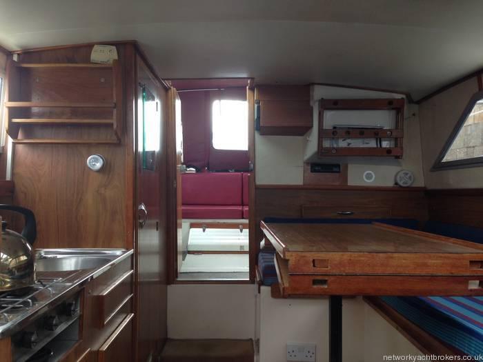 Princess 25 Internal Cabin
