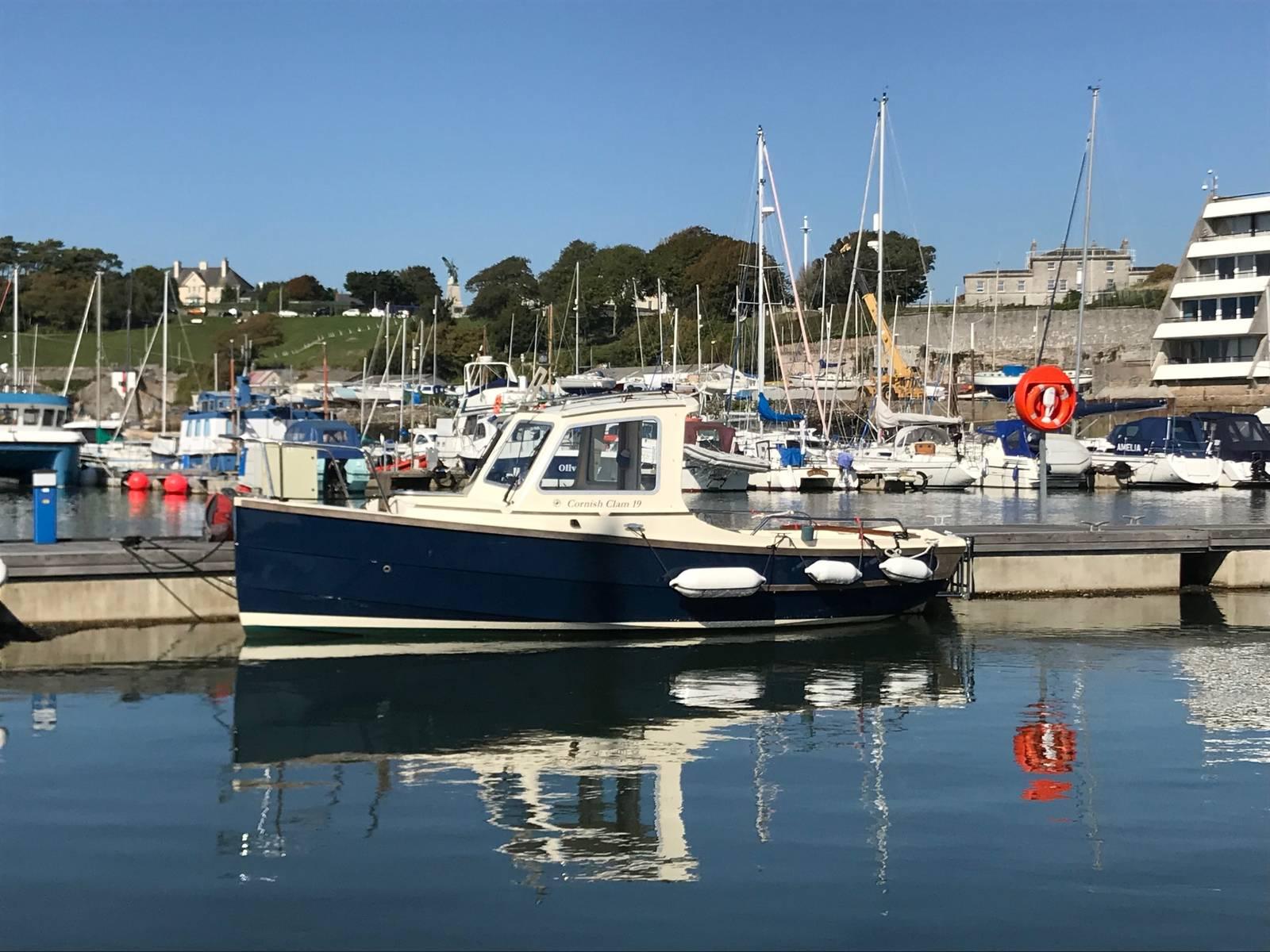 Cornish Crabbers Clam 19 Wheelhouse For Sale