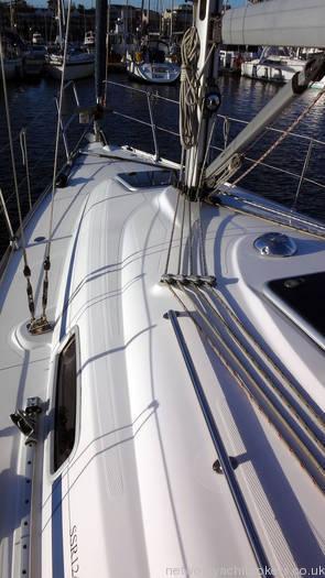 Bavaria 30 Deck