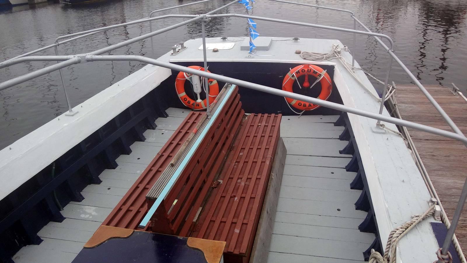 MacCaughy Flit Boat