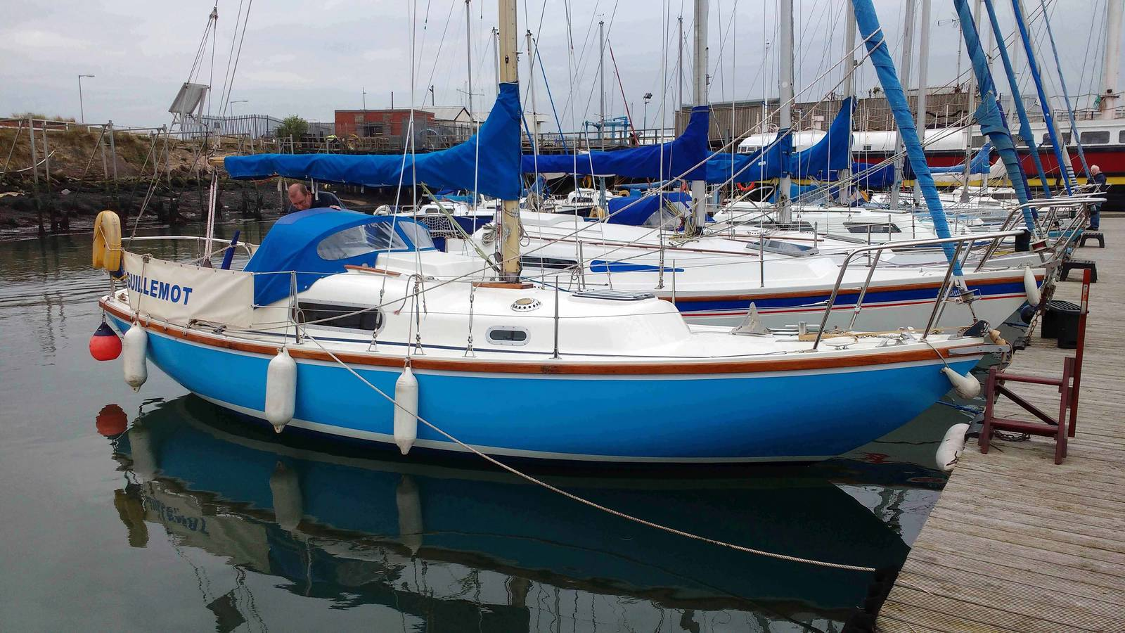 Wing 25 1980 Cruising Yacht For Sale In Blyth 163 6 750