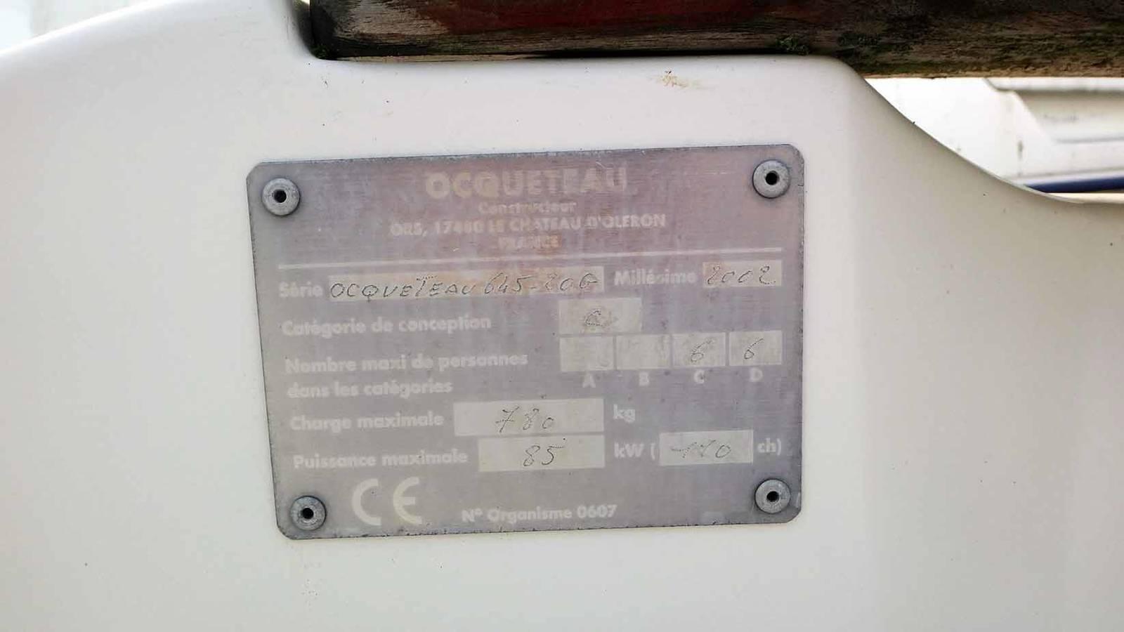Ocqueteau 645