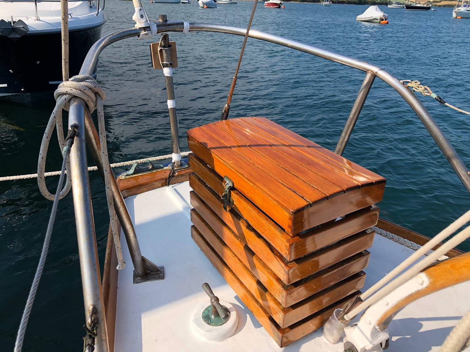 Robert Clark Wooden Sloop
