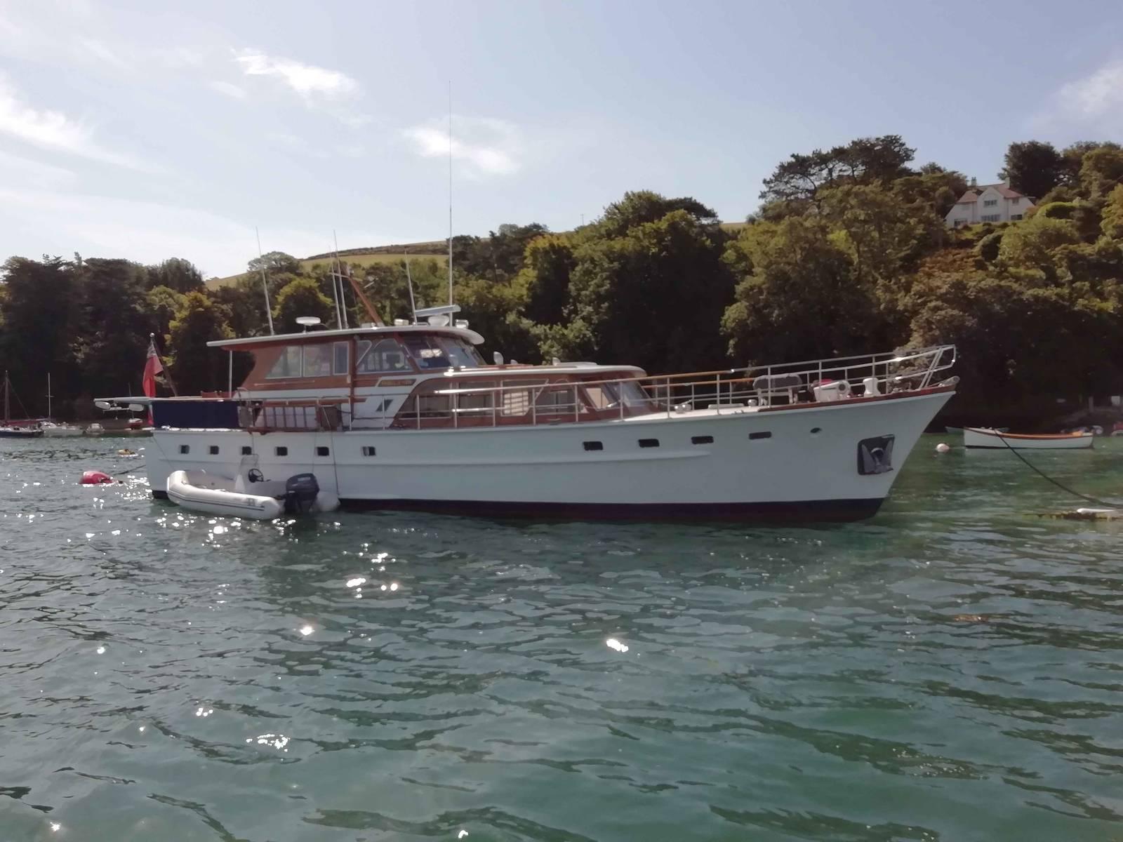 60 foot steel motor yacht