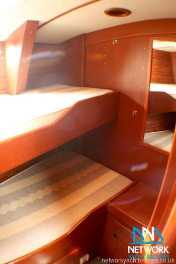 Twin cabin Hallberg Rassy 49