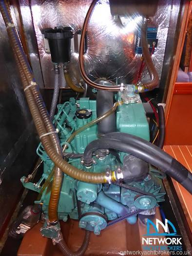 Volvo Engine -Bavaria 38