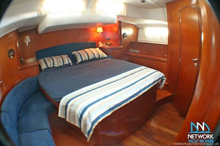 Beneteau 57 stern cabin