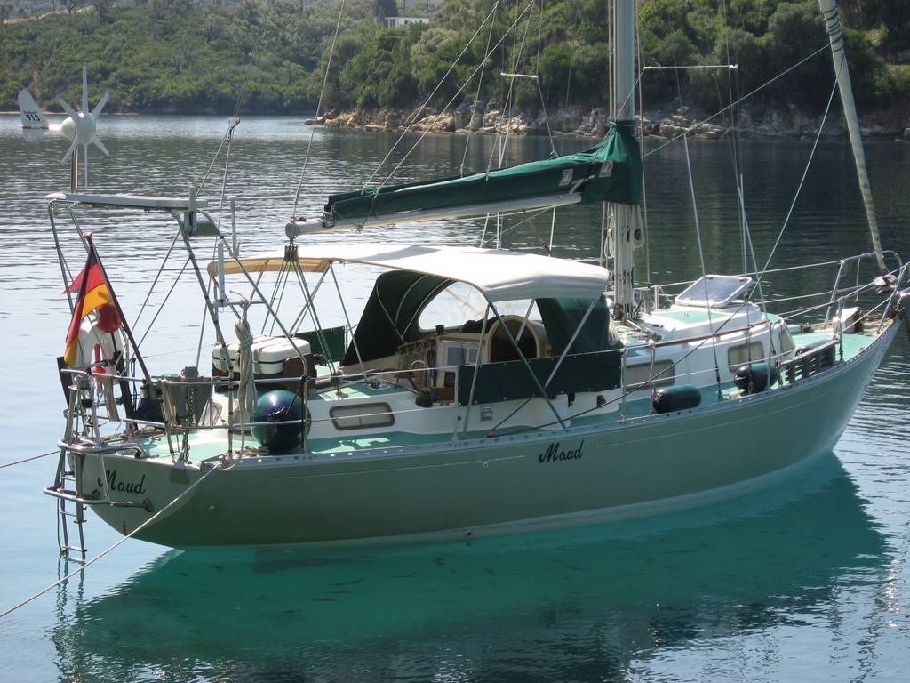 Trident Warrior 35 1977 Cruising Yacht For Sale In Lefkas