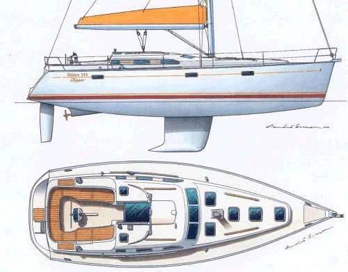 Beneteau Oceanis 393 Clipper 2005 Cruising Yacht For Sale In Lefkas