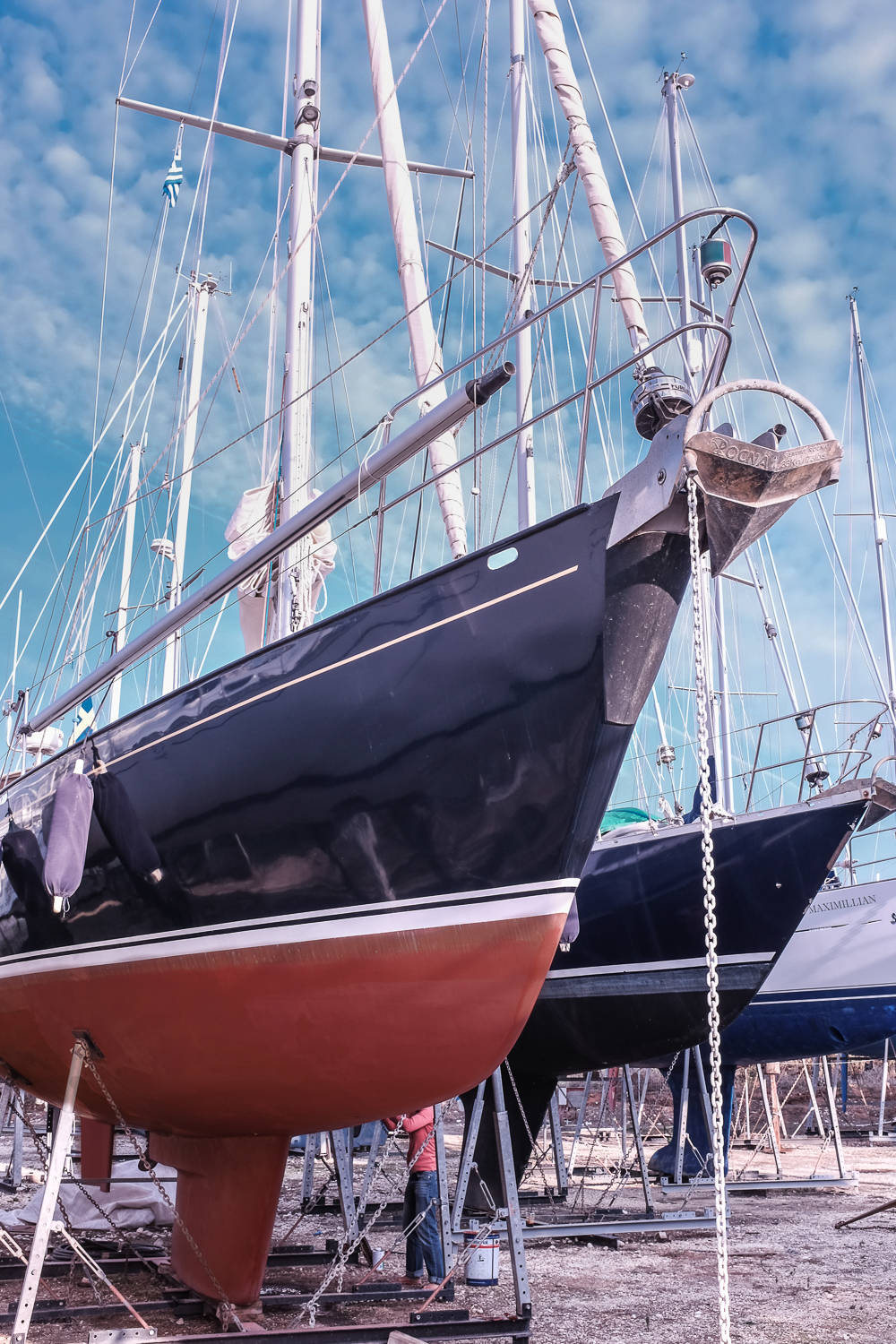Sirius 42 -Steel Cutter 1991 Cruising Yacht For Sale in