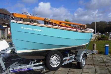 Cornish Shrimper 17 For Sale £19,500 Network Yacht Brokers Neyland 01646 602 500