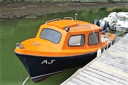 Pilot Fishing Boat 14ft For Sale. Network Yacht Brokers Neyland. 01646 602 500