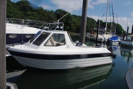 Warrior 175 Export For Sale. Network Yacht Brokers Neyland. Tel 01646 602 500