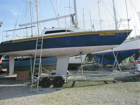 Mustang 30 Race Boat For Sale. Neyland Yachts.co Tel: 01646 602 500 email: neyland@yachts.c