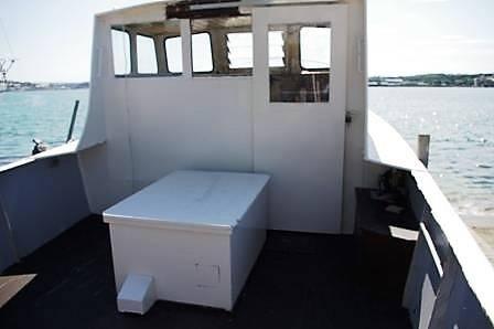Steel Work Boat For Sale. Ycahts.Co Neyland Tel: 01646 602 500