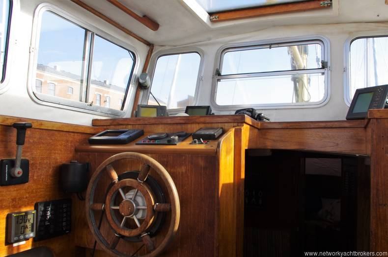Fisher 30 Ketch 1977 for Sale. Yachts.co Neyland Call: 01646 602 500