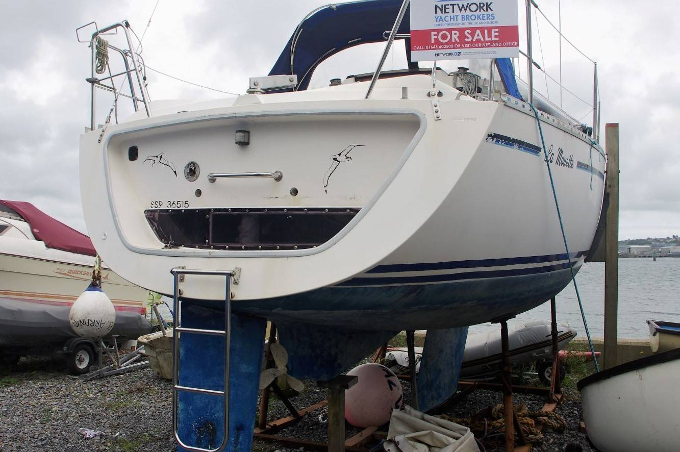 Gibsea 282 Fin Keel For Sale. Yachts.Co Neyland. web: www.yachts.co call: 01646602500 Post Code: SA73 1PY