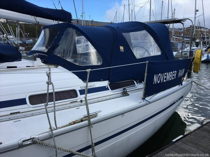 Bavaria 36 with Network Yacht Brokers Milford Haven