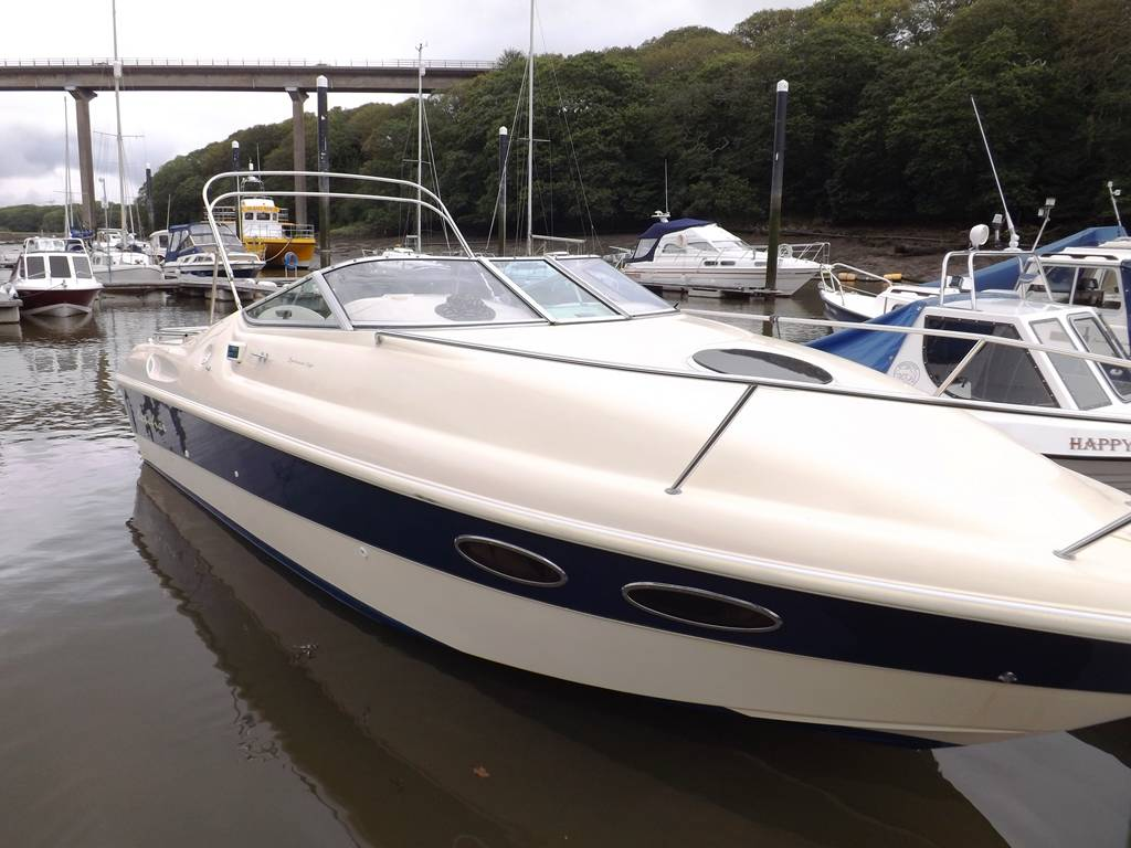 Fletcher 25 GTS Network Yacht Brokers Milford Haven Pembrokeshire SA73 3AX Yachts.co Milford Haven Pembrokeshire SA73 3AX Quadra Marine Services Milford Haven SA73 3AX 01646 278270