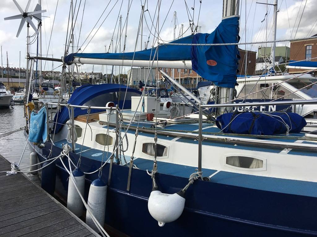 Maurice Griffiths Levanter - Network Yacht Brokers Milford Haven