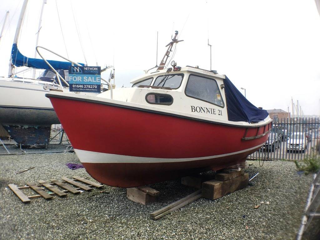 Trusty 21 - Network Yacht Brokers Milford Haven
