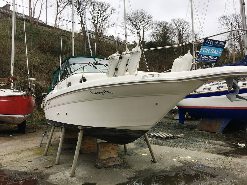 SeaRay Sundancer 270 - Network Yacht Brokers Milford Haven