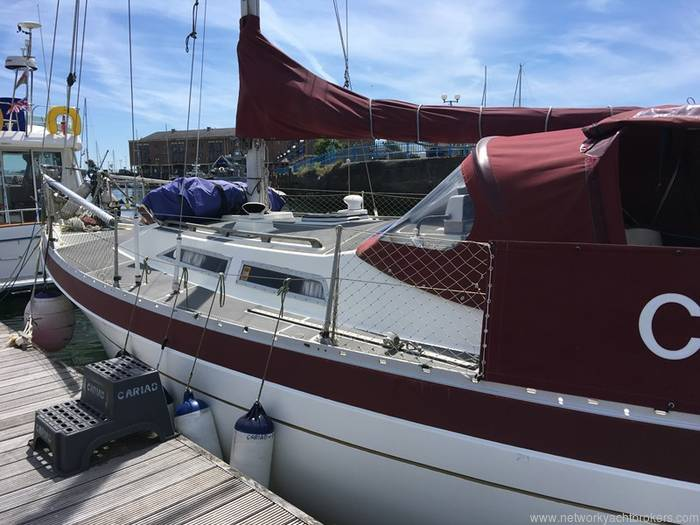 Moody 33s - Network Yacht Brokers Milford Haven