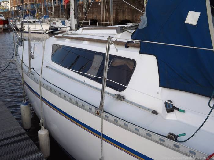 Gibsea 282 - Yacht.Co Milford Haven - Network Yacht Brokers Milford Haven 01646 278270