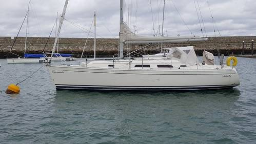 Hanse 341 from Leinster Boats