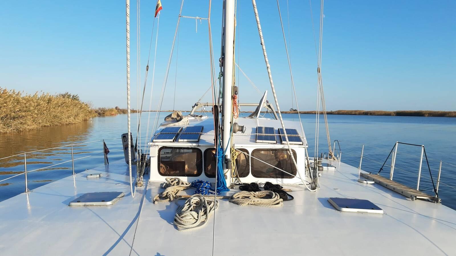 deck Otto Schein Catamaran Yacht For Sale