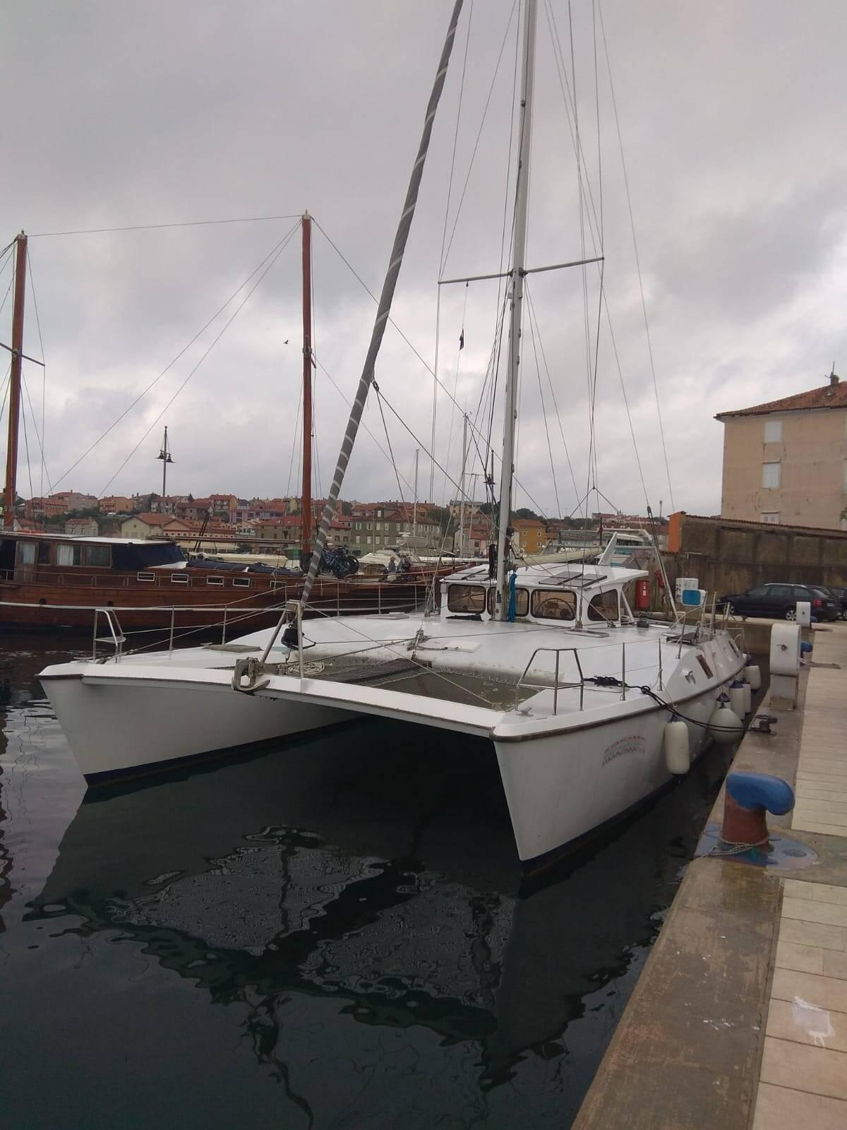 dock Otto Schein Catamaran Yacht For Sale