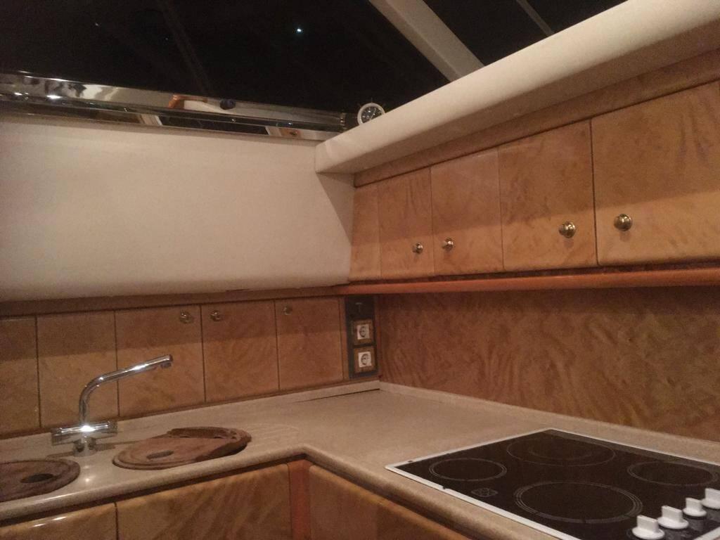Galley 2 Princess Motor Yacht
