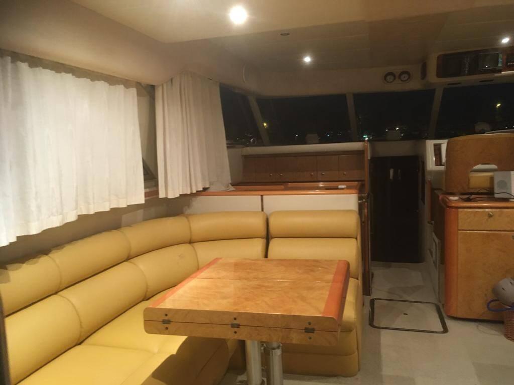 Lounge Princess Motor Yacht