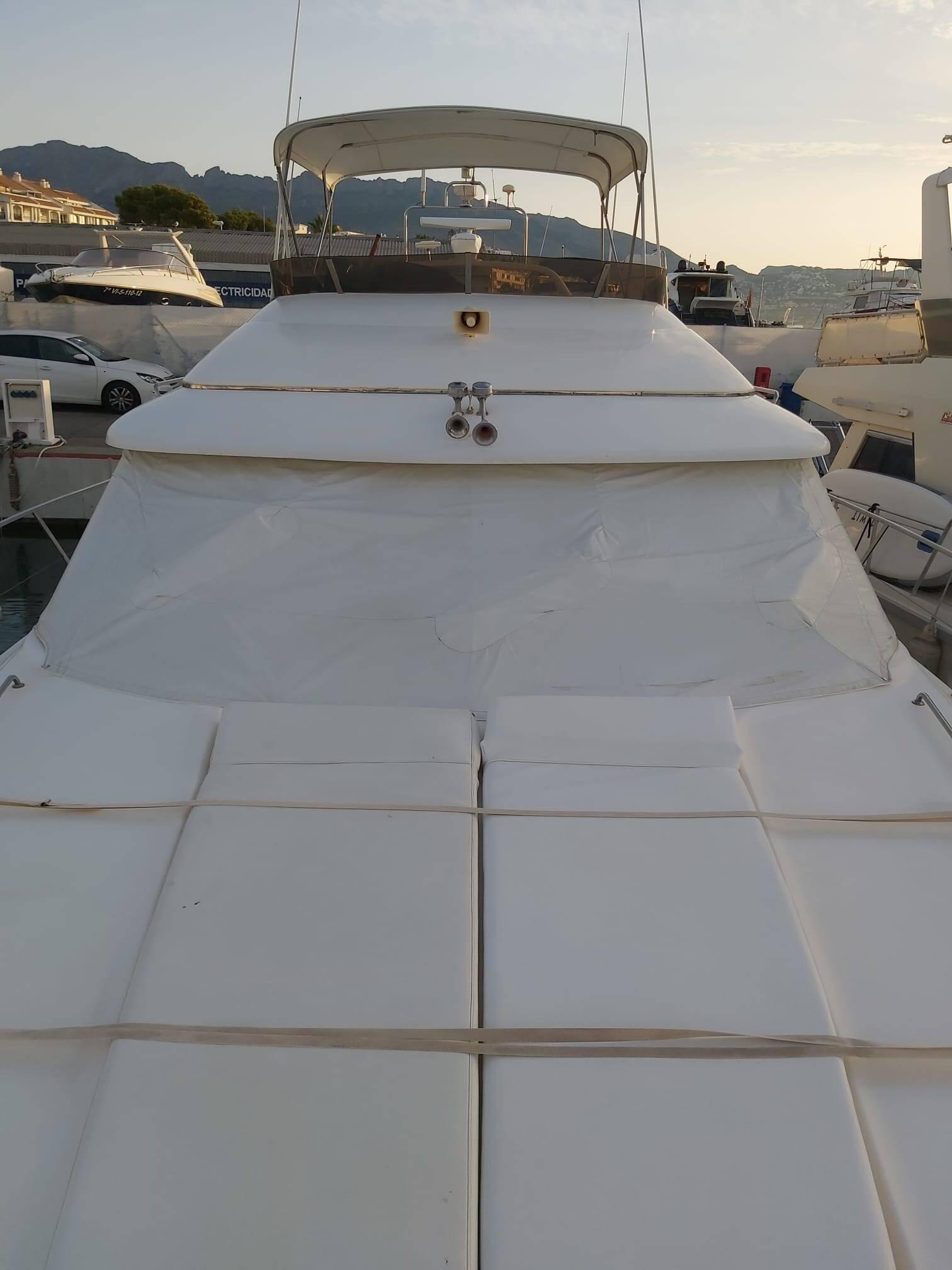 Coverd Princess Motor Yacht