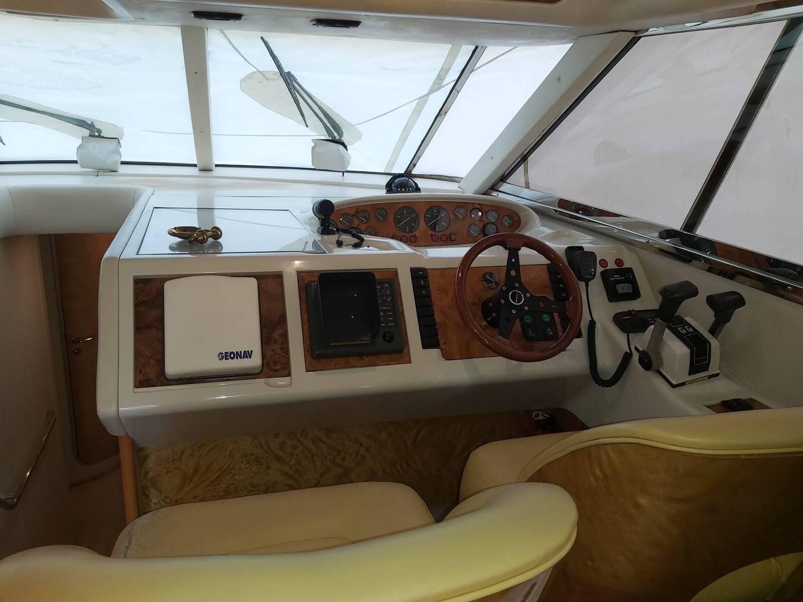 Stood Back Princess Motor Yacht