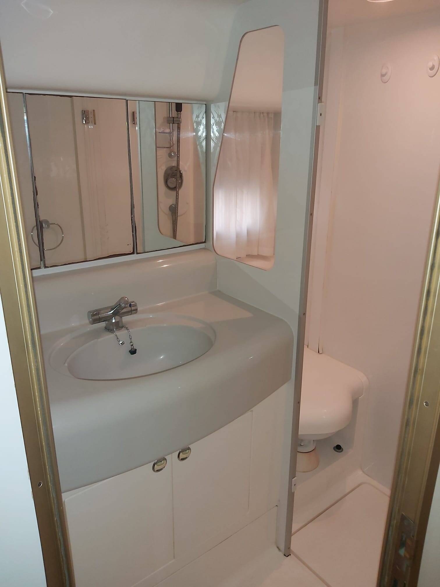 Another bathroom 2 Princess Motor Yacht