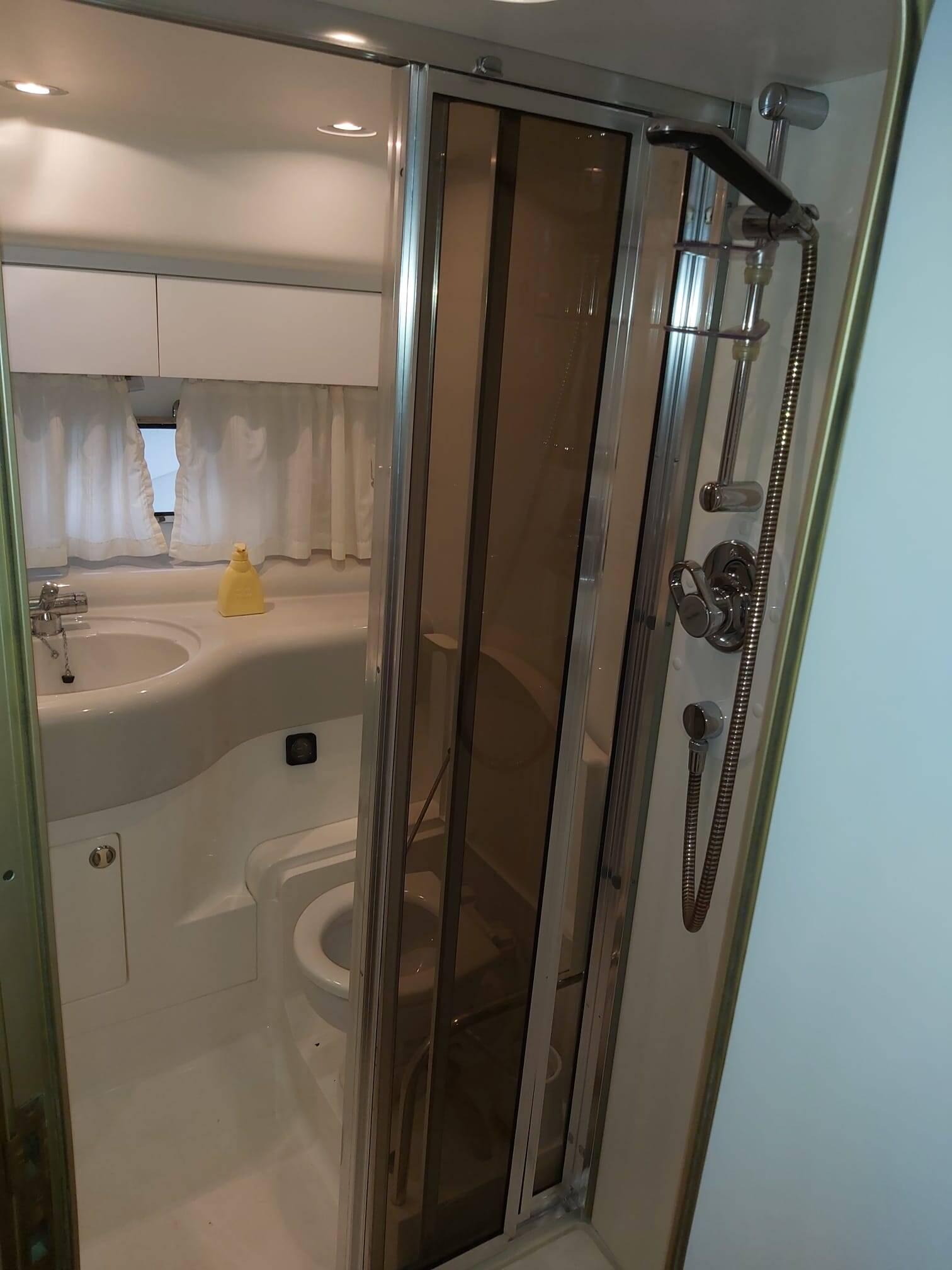 Another bathroom Princess Motor Yacht
