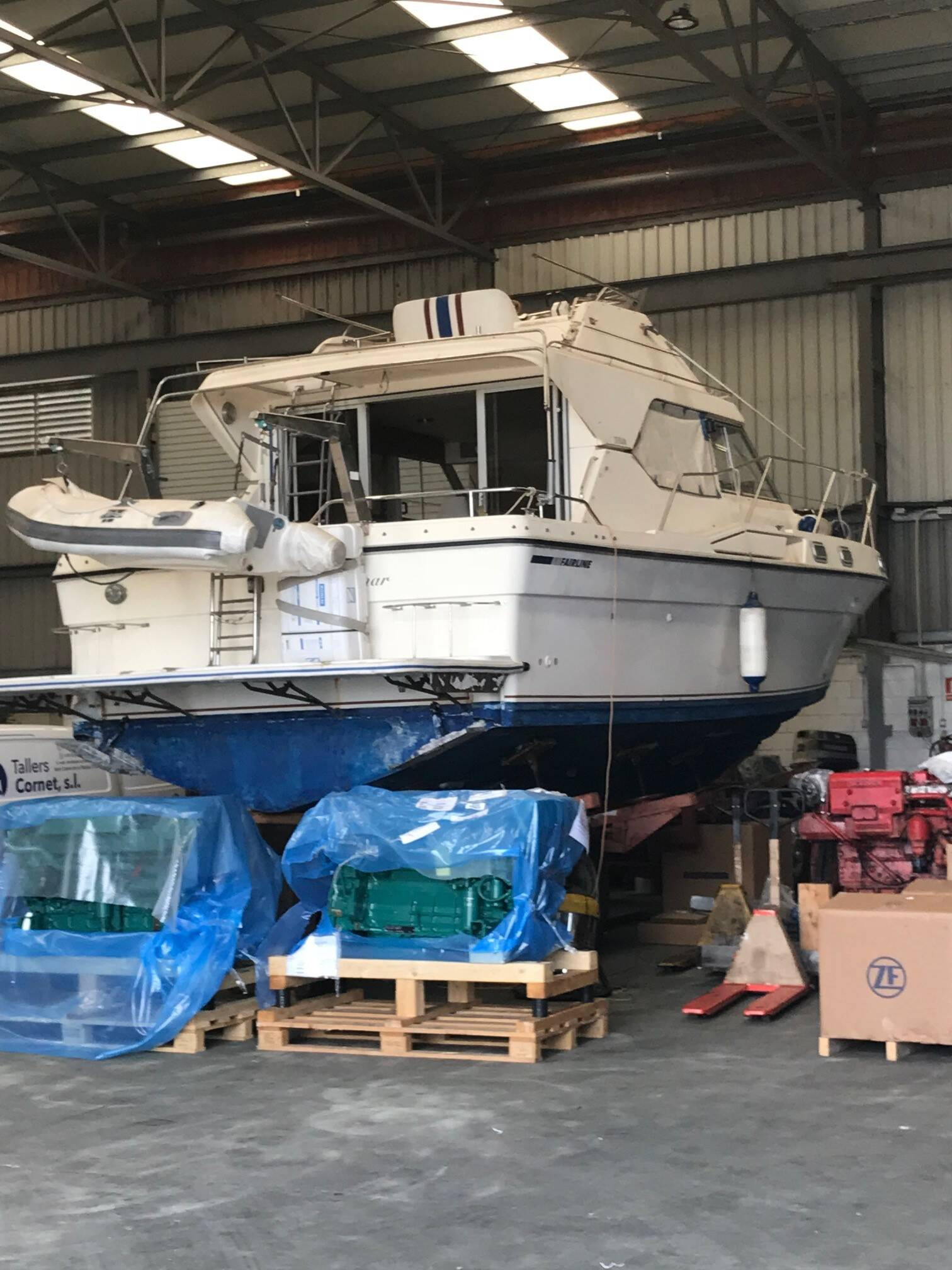 works Fairline sedan Boat for sale