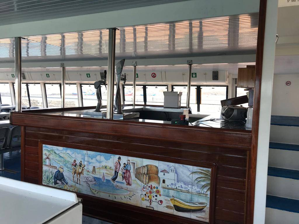 The Bar 2 Catamaran Commercial Boat for Sale