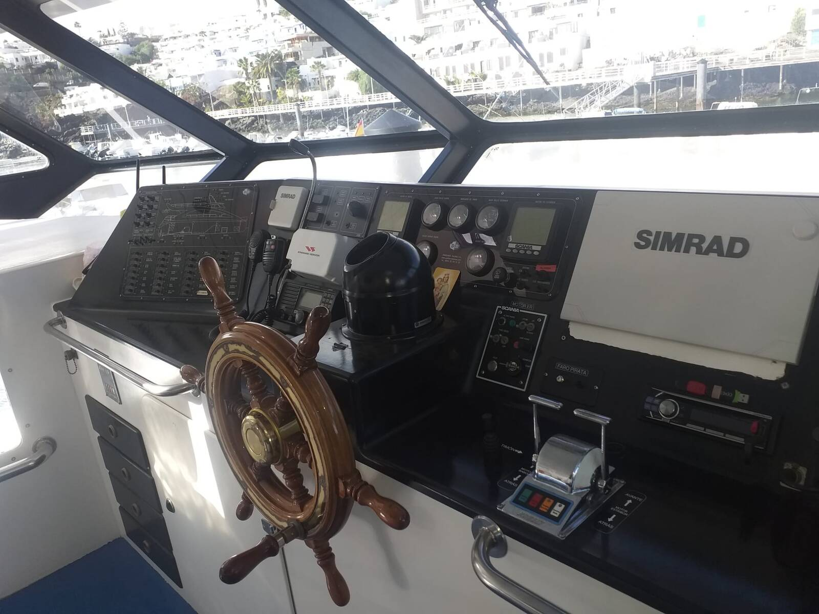 Helm2 Commercial Catamaran Glass Bottom Boat for sale
