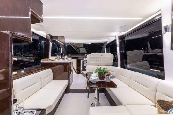 saloon 3 Galeon 400 Flybridge Motor Yacht for sale