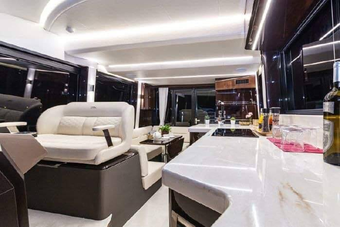 saloon 4 Galeon 400 Flybridge Motor Yacht for sale
