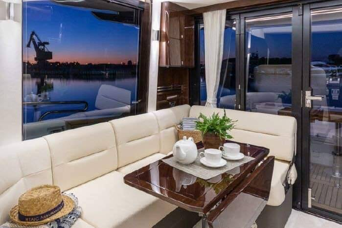 saloon 5 Galeon 400 Flybridge Motor Yacht for sale
