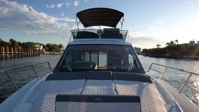 foredeck Galeon 400 Flybridge Motor Yacht for sale