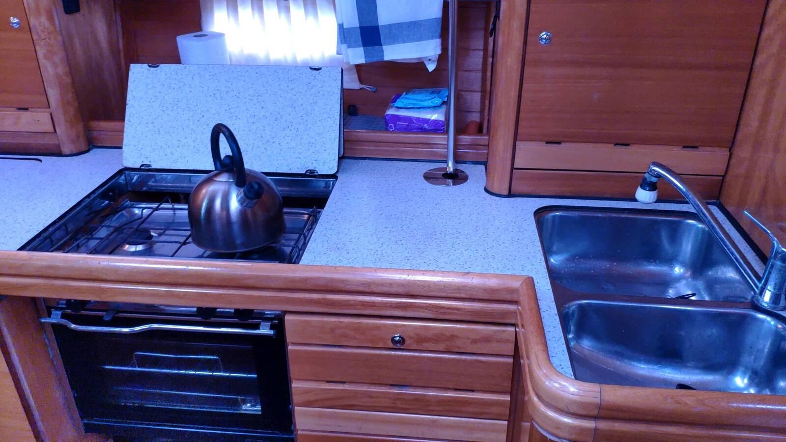 Galley Bavaria 37 Cruiser Yacht for sale